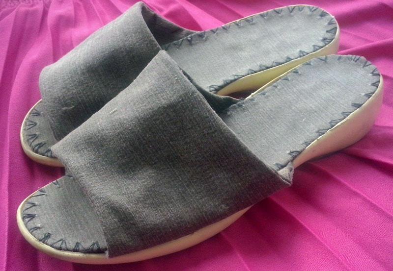 Шитая обувь своими руками 535